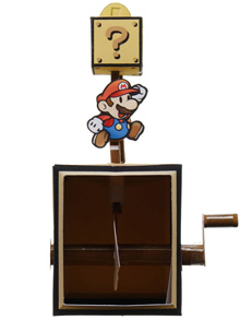 Papercraft de Super Mario en movimiento. Manualidades a Raudales.