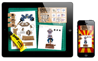 ios app iphone ipad awesome paper toys